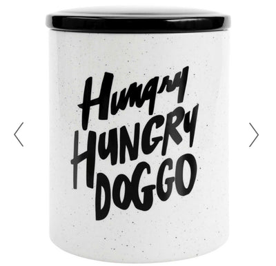 Hungry Hungry Doggo Treat Jar