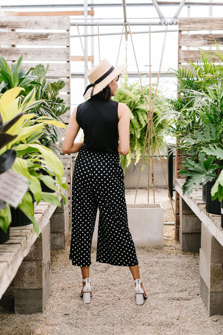 Polka Dot Gaucho Pants