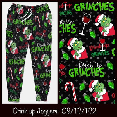 Drink Up Grinches Joggers