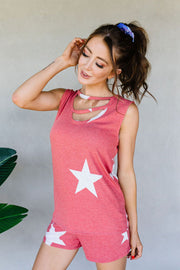 Star Player Top In Red