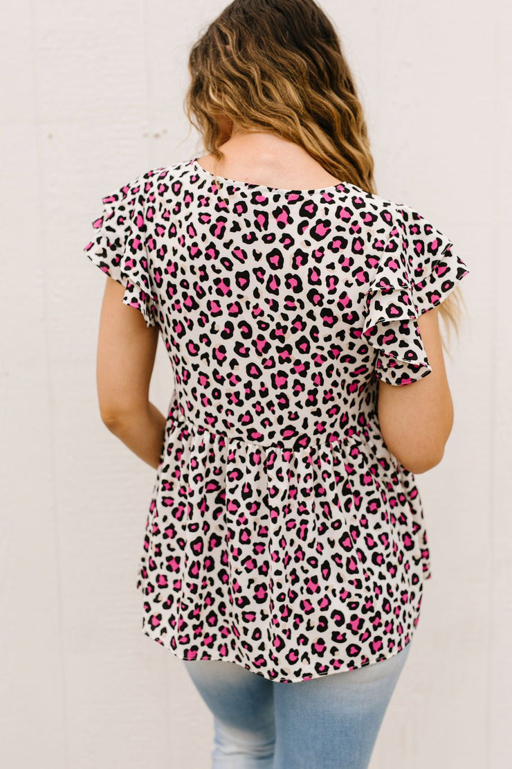 Think Pink Spotted Blouse