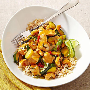 Chicken Cashew Nut with Brown rice