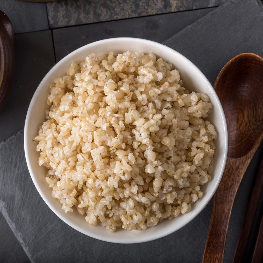 Side serving: Brown rice – 200g