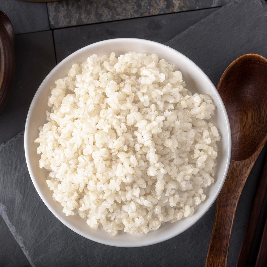 Side serving: White rice – 200g