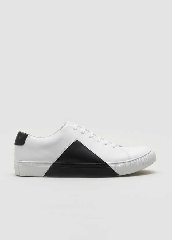 Triangle Low White-Black