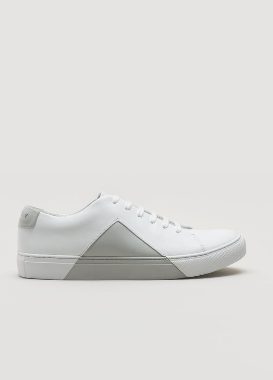 Triangle Low White-Grey