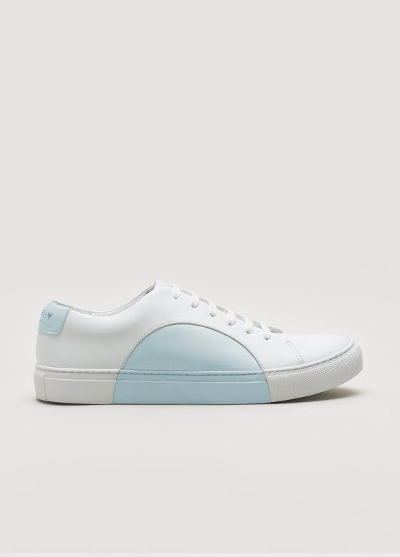 Circle Low White-SkyBlue