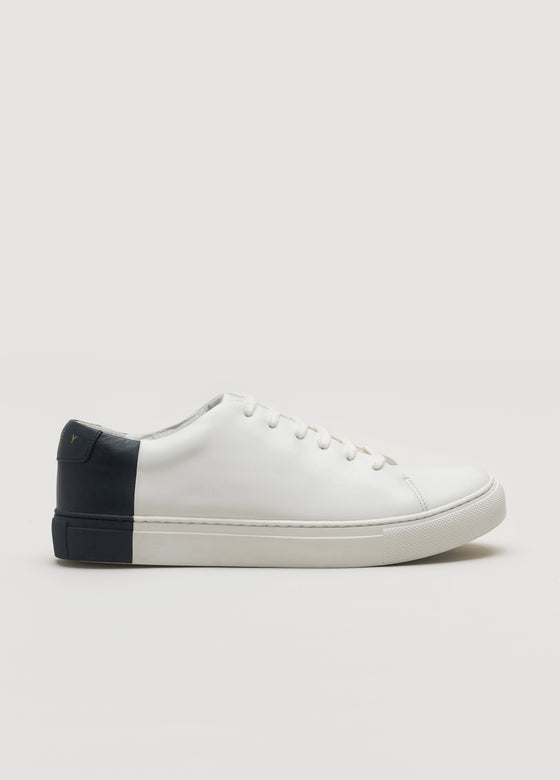 Two-Tone Low OffWhite-Navy