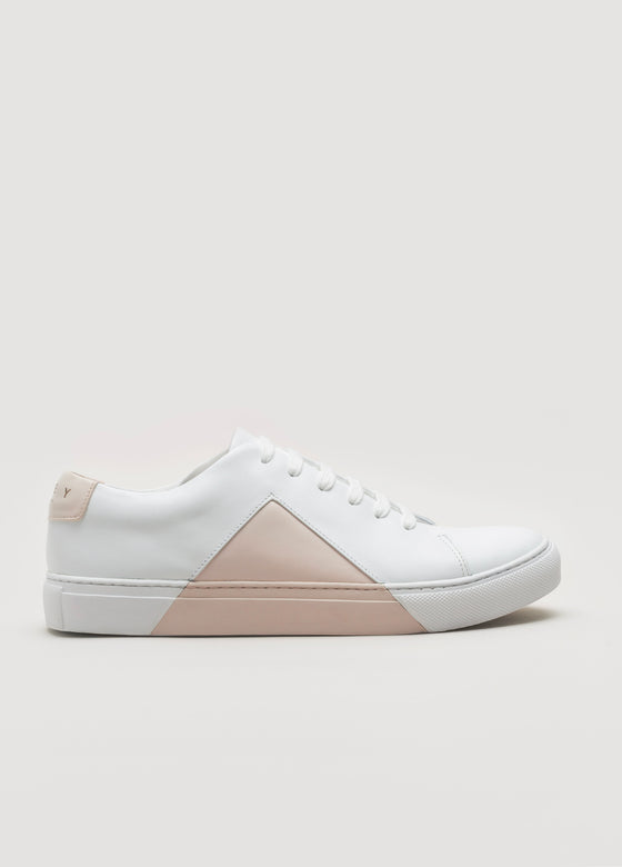 Triangle Low White-Blush