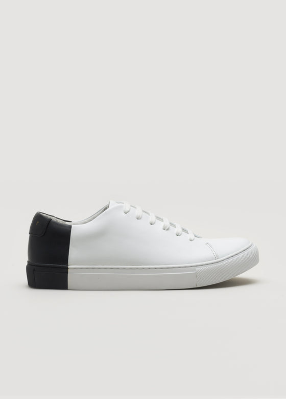 Two-Tone Low White-Black