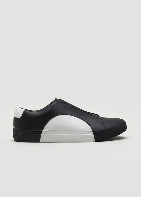 Slip-On Circle Low in Black-White