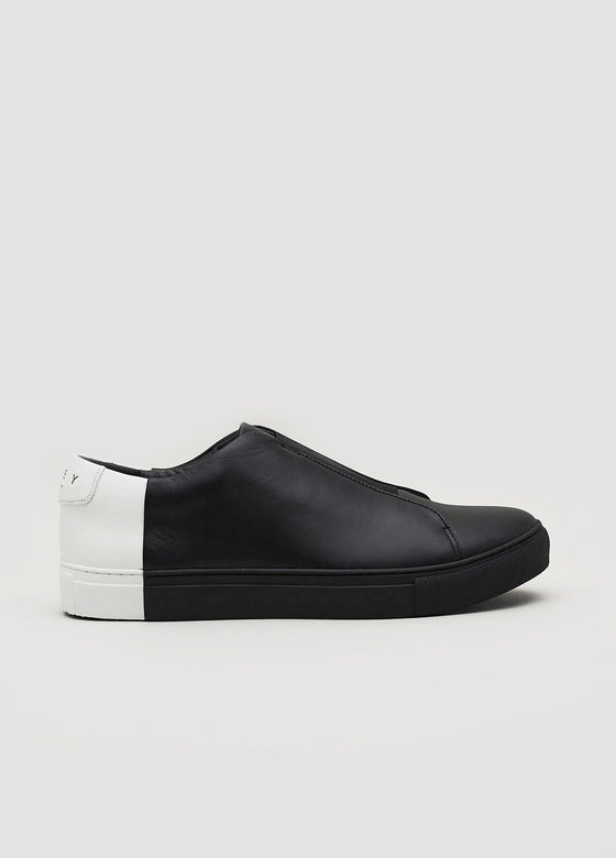 Slip-On Two-Tone Low Black-White