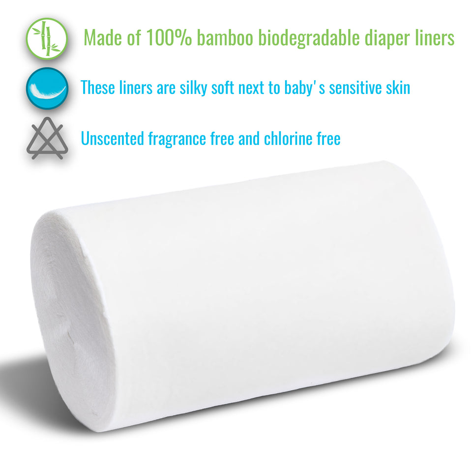 Product specifications for diaper liners