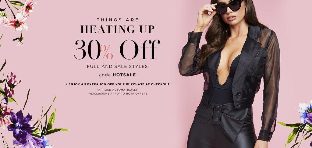 Shop bebe stores hot sale. Save 30% + an extra 10% at checkout with code HOTSALE