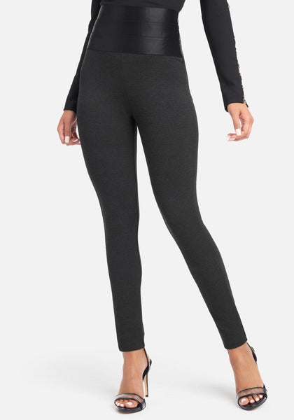 Women Satiny High Waist Legging