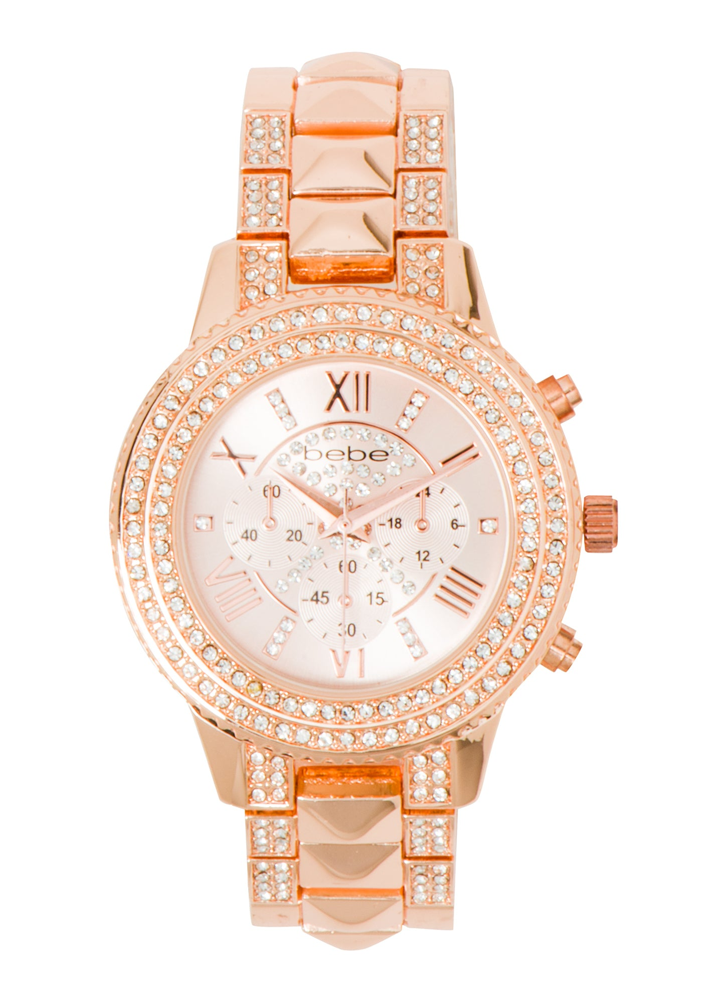 Women's Bebe Pyramid Watch in ROSE GOLD Metal