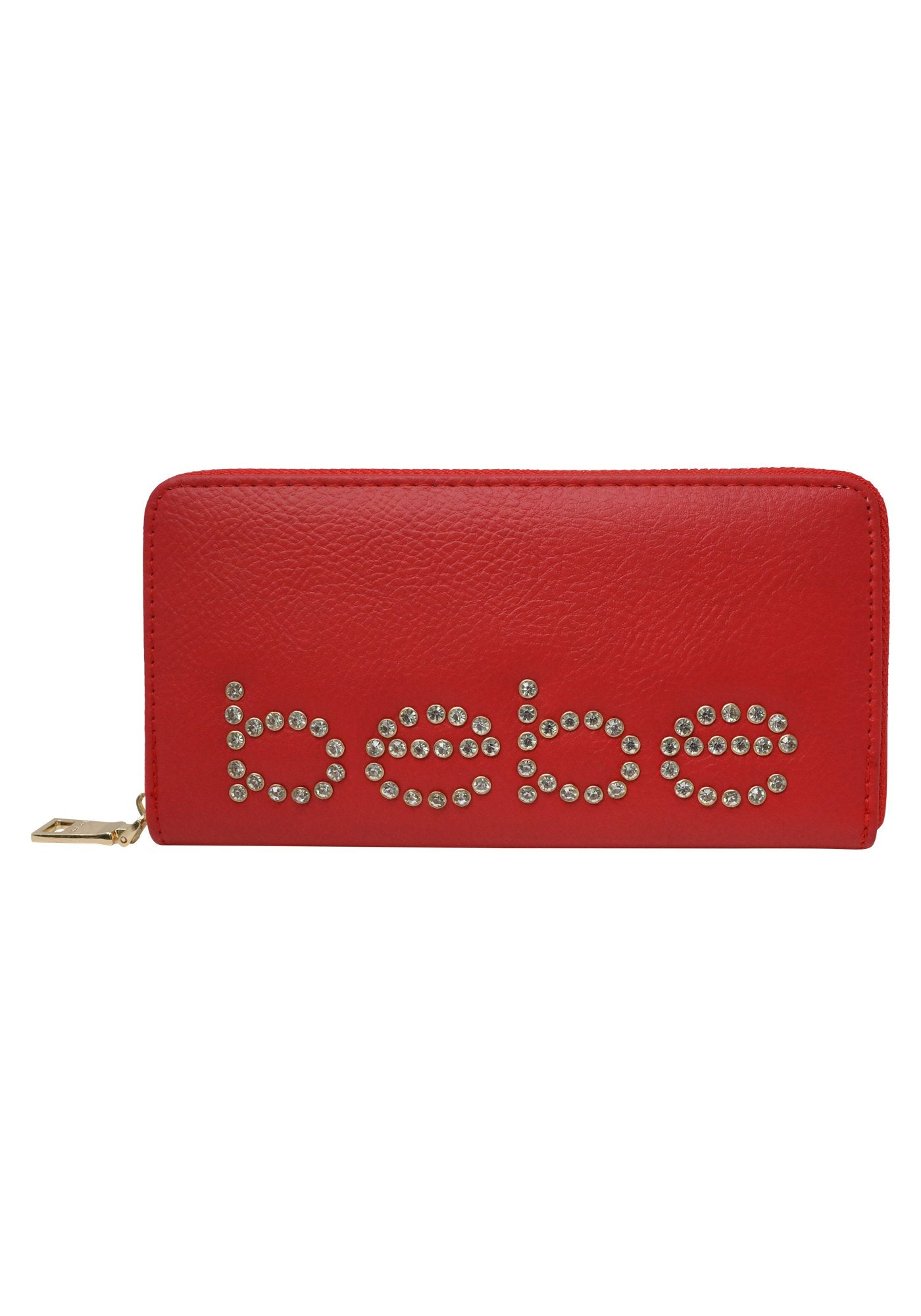 Bebe Women's Jetta Wallet, Size Mini in Red