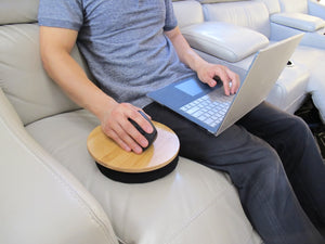 Beanbag Mousepad - Ergonomic Comfortable Mouse Pad for Sofa, Bed, Couch, and Anywhere Else