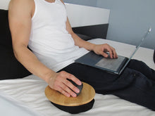 Load image into Gallery viewer, Beanbag Mousepad - Ergonomic Comfortable Mouse Pad for Sofa, Bed, Couch, and Anywhere Else
