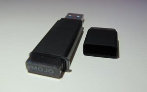 MOJO Plug and Play SSD USB 3.0 Flash Drive - Portable Solid State Drive