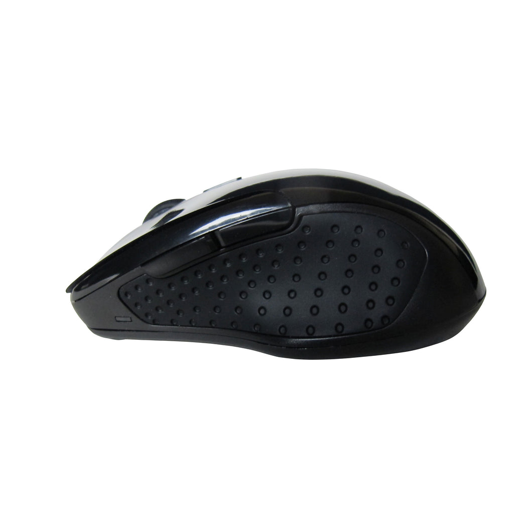 Silent Bluetooth Mouse - Wireless Optical Mouse w/Adjustable Sensitivity