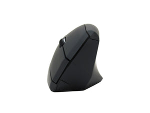 Dual Mode Silent Vertical Mouse - Bluetooth/Wireless Optical Ergonomic Mouse w/Adjustable Sensitivity