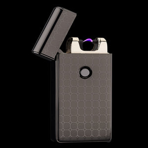 Spark Lighter - Electric Lighter USB Rechargeable Electrical Spark Cigarette Lighter Flameless