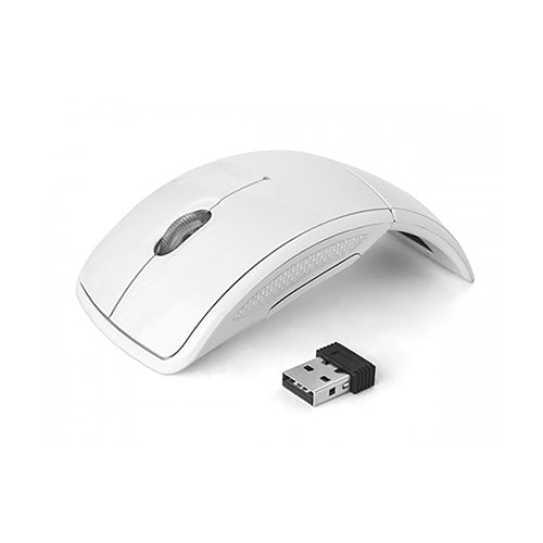 Silent Folding Optical Wireless Arc Mouse