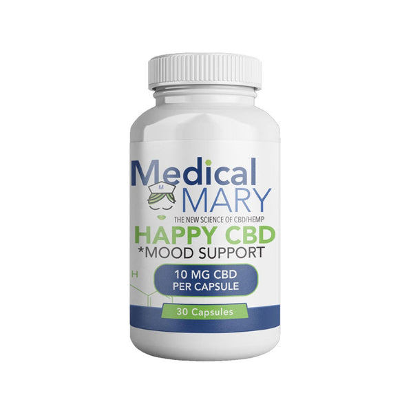 Medical Mary Happy CBD Capsules 300MG