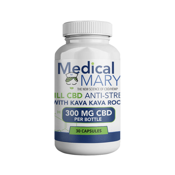 Medical Mary Chill CBD Capsules 300MG