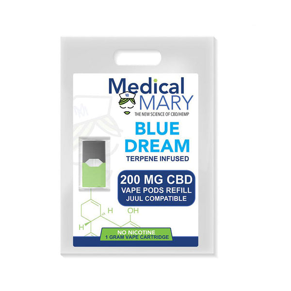 Medical Mary Juul CBD Vape Pod refills 200 MG (4 flavors)