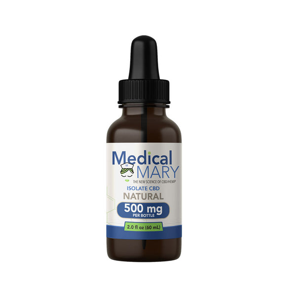 Medical Mary CBD Isolate 500 MG Natural Flavor