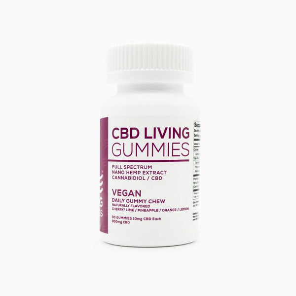 CBD Living Vegan Gummies 300 MG