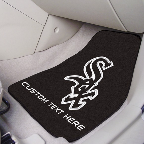 MLB - Chicago White Sox 2-piece Carpet Car Mat Set 17