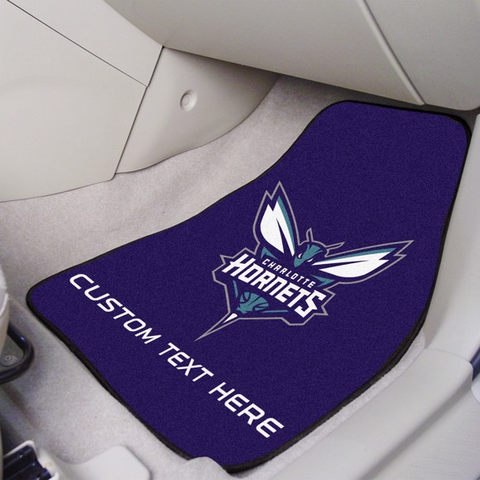 NBA - Charlotte Hornets 2-piece Carpet Car Mat Set 17