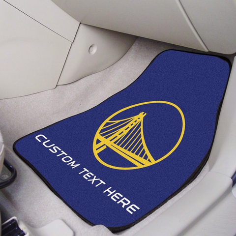 NBA - Golden State Warriors 2-piece Carpet Car Mat Set 17