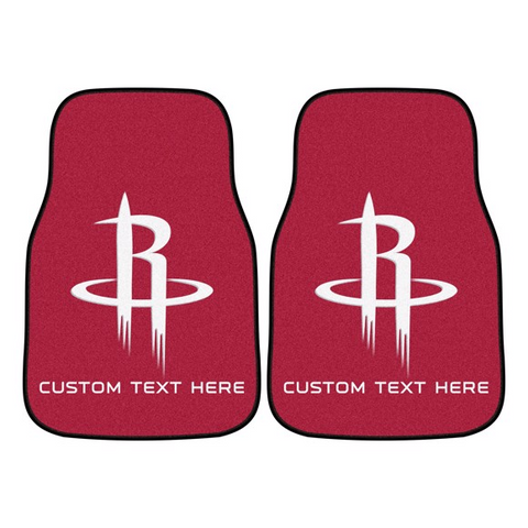 NBA - Houston Rockets 2-piece Carpet Car Mat Set 17