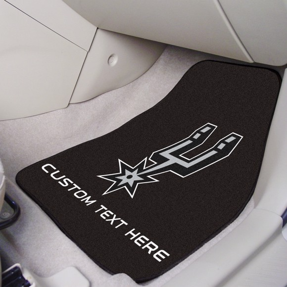 NBA - San Antonio Spurs 2-piece Carpet Car Mat Set 17