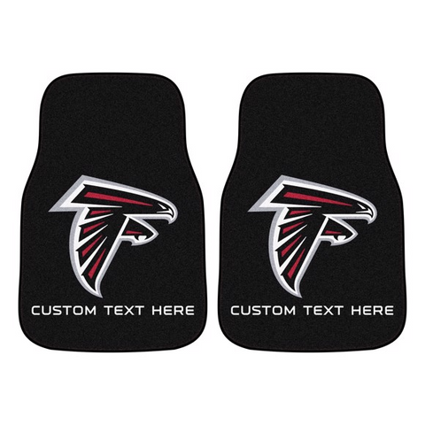 NFL - Atlanta Falcons 2-piece Carpet Car Mat Set 17