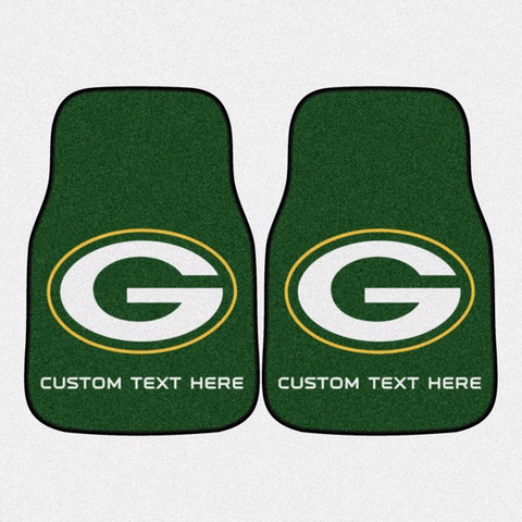 NFL - Green Bay Packers 2-piece Carpet Car Mat Set 17