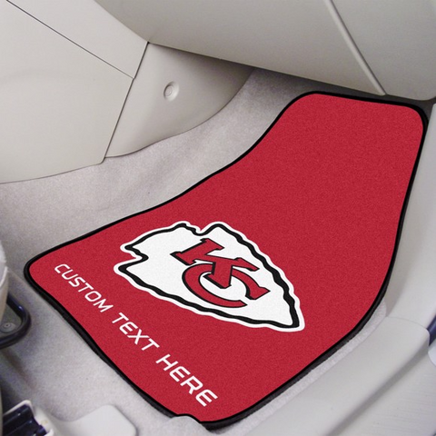 NFL - Kansas City Chiefs 2-piece Carpet Car Mat Set 17
