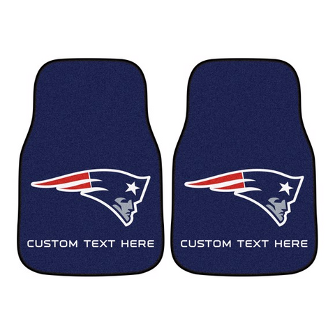 NFL - New England Patriots 2-piece Carpet Car Mat Set 17