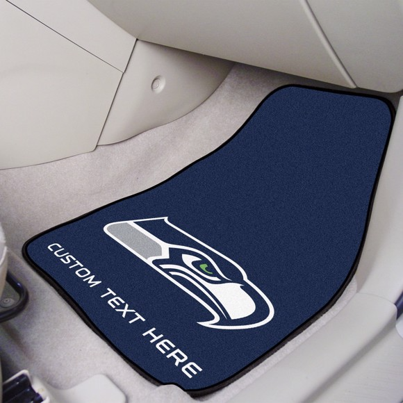 NFL - Seattle Seahawks 2-piece Carpet Car Mat Set 17