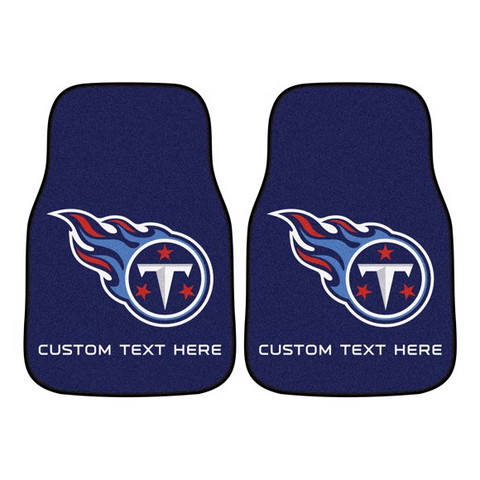 NFL - Tennessee Titans 2-piece Carpet Car Mat Set 17