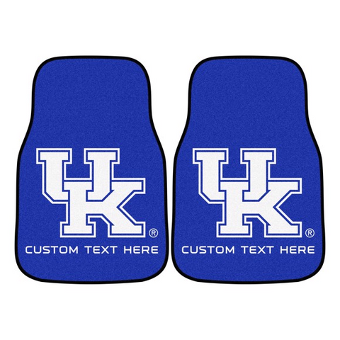 University of Kentucky 2-piece Carpet Car Mat Set 17