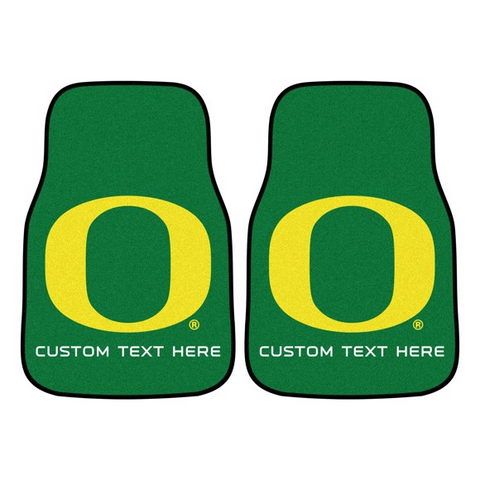 University of Oregon 2-piece Carpet Car Mat Set 17