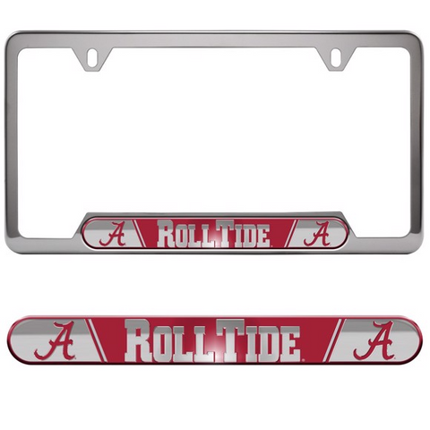 University Of Alabama Embossed License Plate Frame