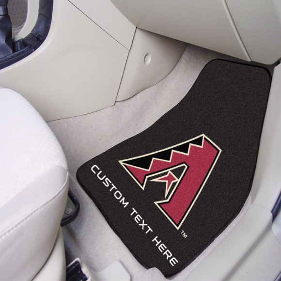 MLB - Arizona Diamondbacks 2-piece Carpet Car Mat Set
