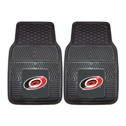 NHL - Carolina Hurricanes 2-pc Front Front Vinyl Car Mats