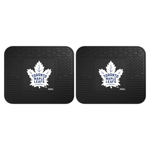 Toronto Maple Leafs Car Truck Front (Vinyl/Carpet) & Rear (Vinyl) Floor Mats